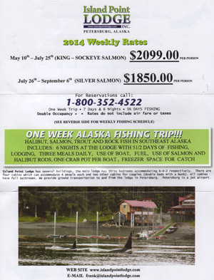 Lsland Point Lodge Flyer